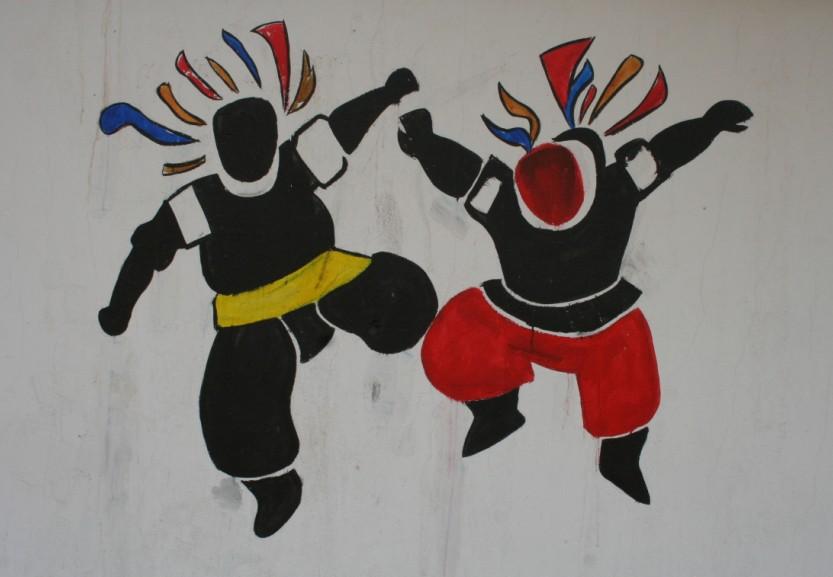扎鲁特旗蒙中墙绘 第8张