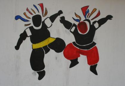扎鲁特旗蒙中墙绘 第16张