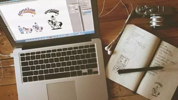 标志设计|Boroldoi Cold Yogurt品牌logo设计 第6张