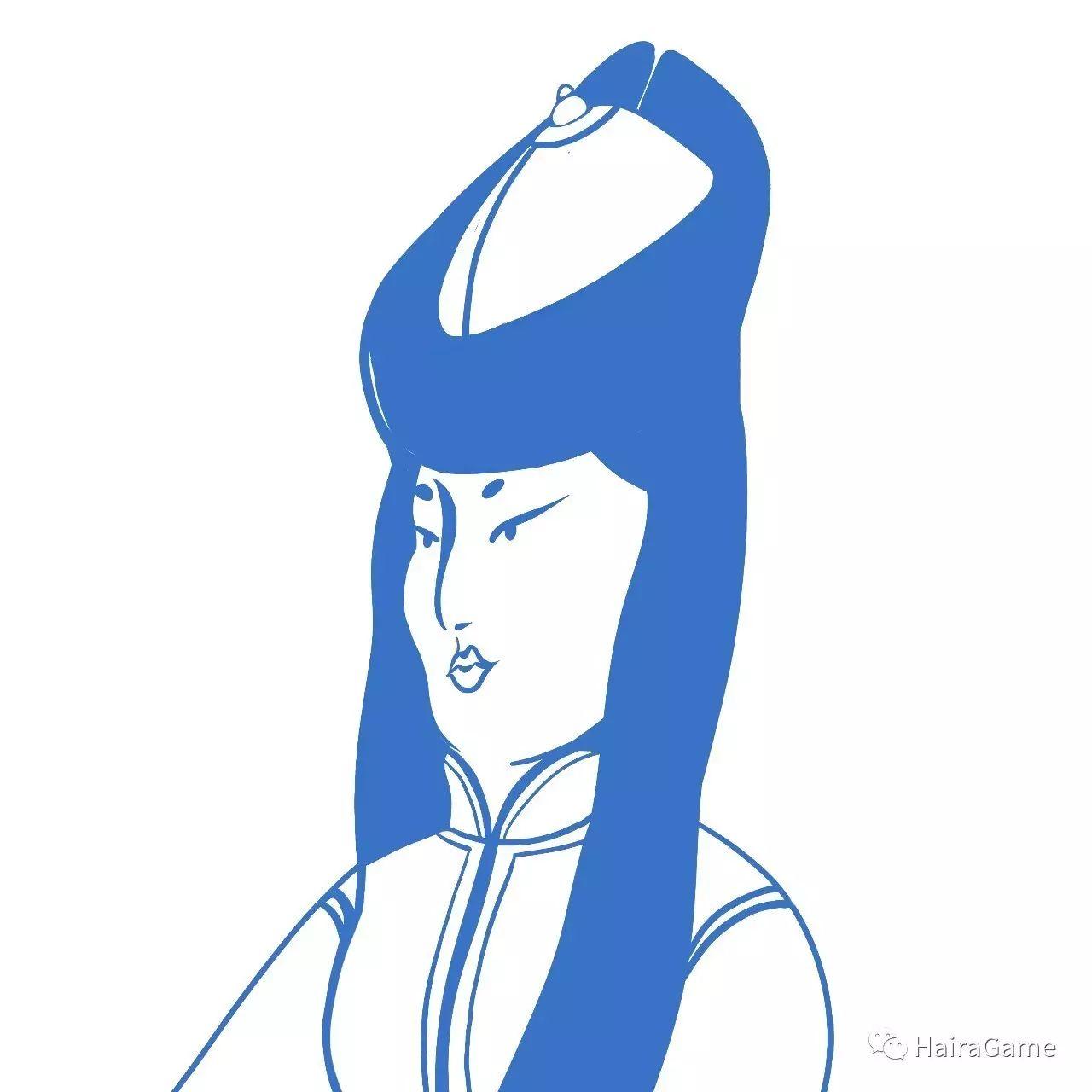 漫画头像 of 阿拉善和硕特蒙古|Haira绘制 第2张
