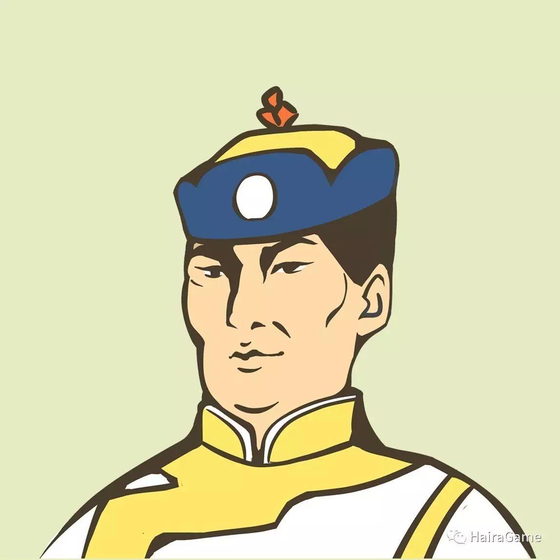 漫画头像 of 阿拉善和硕特蒙古|Haira绘制 第7张