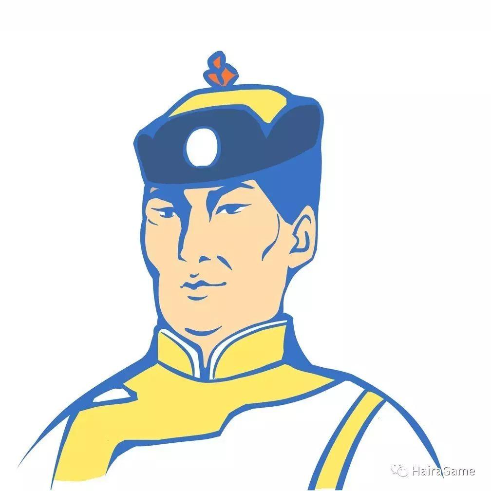 漫画头像 of 阿拉善和硕特蒙古|Haira绘制 第6张