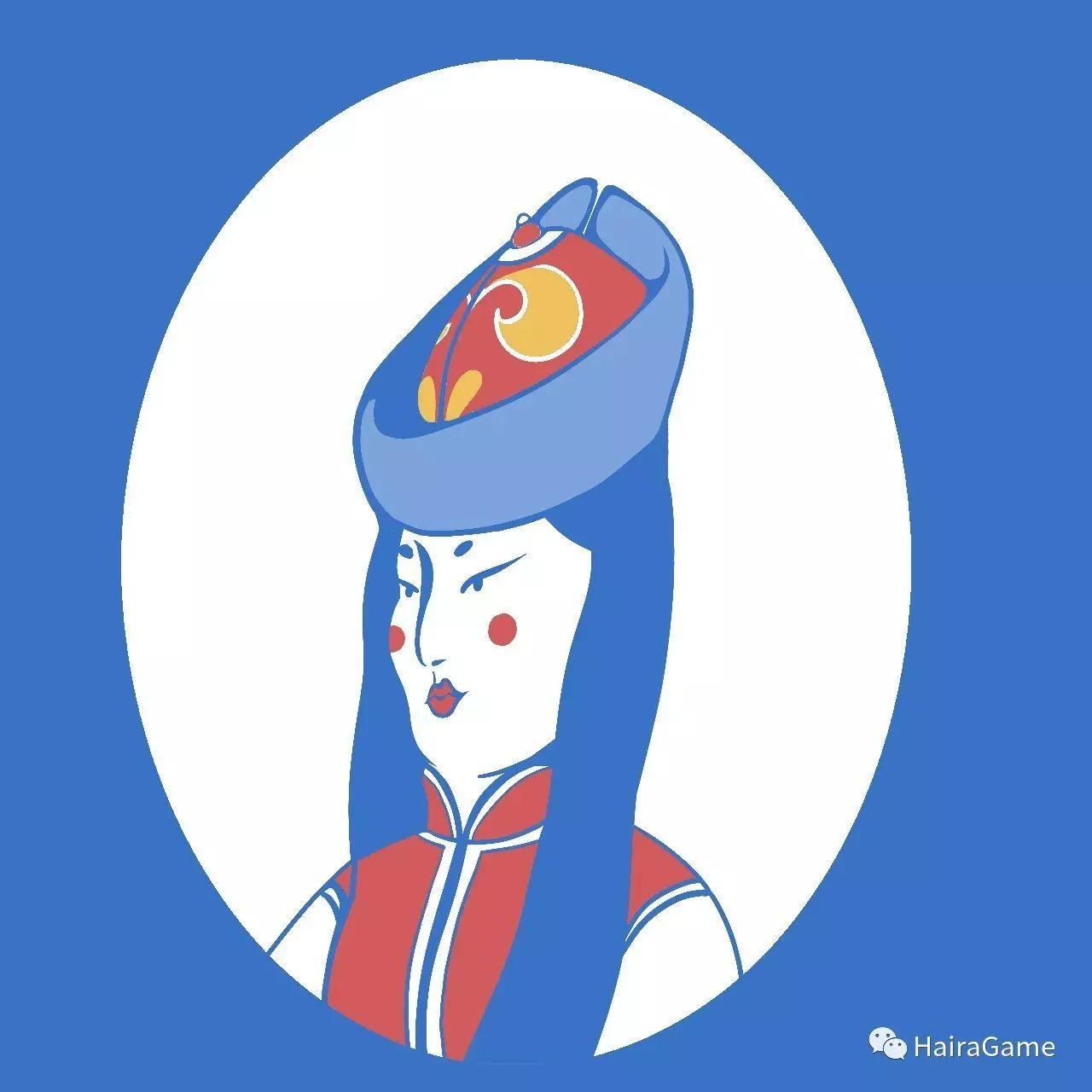 漫画头像 of 阿拉善和硕特蒙古|Haira绘制 第8张