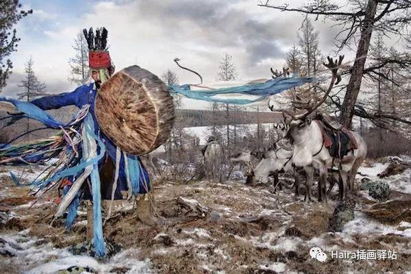 摄影集 | 蒙古察坦驯鹿族影像 · Hamid Sardar 第6张