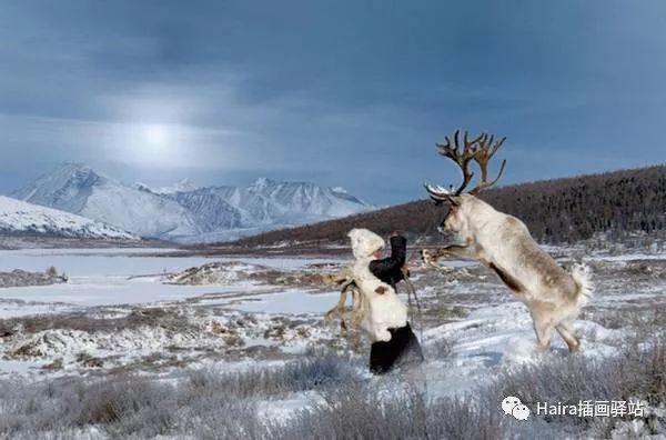 摄影集 | 蒙古察坦驯鹿族影像 · Hamid Sardar 第4张