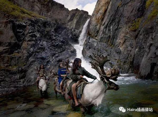 摄影集 | 蒙古察坦驯鹿族影像 · Hamid Sardar 第7张