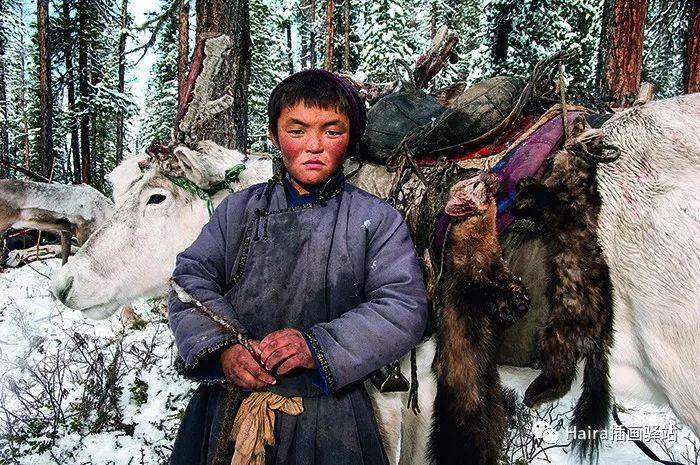 摄影集 | 蒙古察坦驯鹿族影像 · Hamid Sardar 第10张