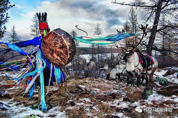 摄影集 | 蒙古察坦驯鹿族影像 · Hamid Sardar 第12张