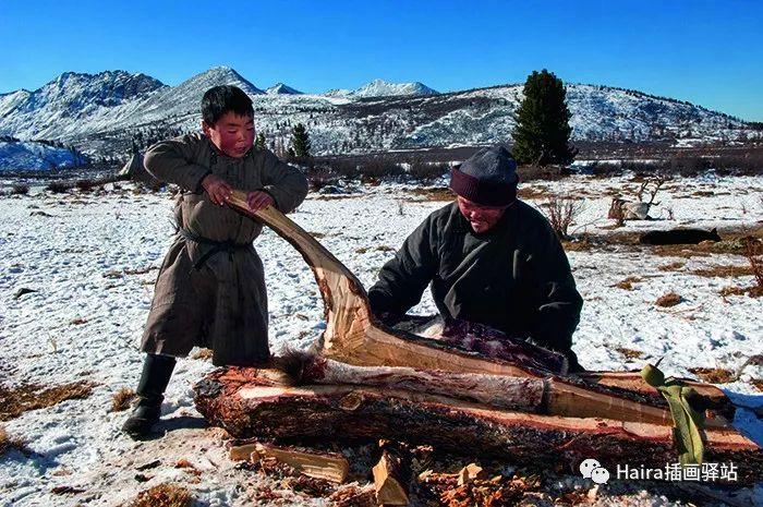 摄影集 | 蒙古察坦驯鹿族影像 · Hamid Sardar 第13张