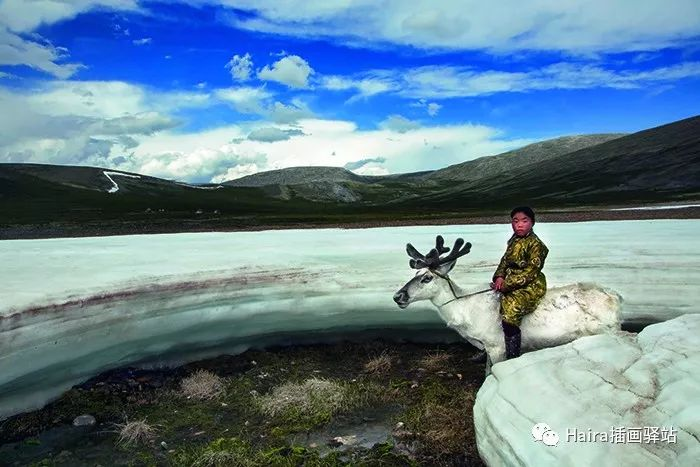 摄影集 | 蒙古察坦驯鹿族影像 · Hamid Sardar 第14张
