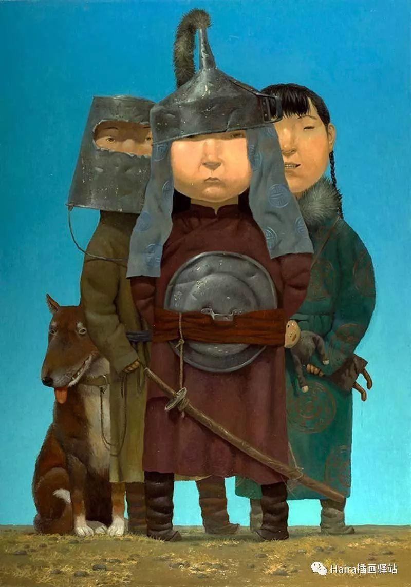 画作欣赏|卓利多·德尔吉耶夫—突破传统的卓越画家 第2张