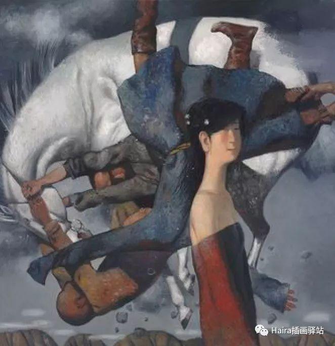 画作欣赏|卓利多·德尔吉耶夫—突破传统的卓越画家 第5张