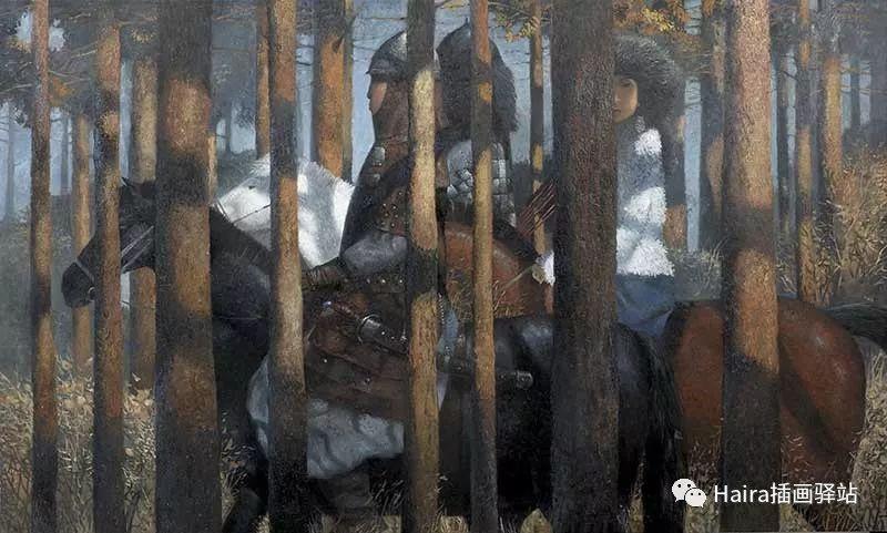 画作欣赏|卓利多·德尔吉耶夫—突破传统的卓越画家 第12张