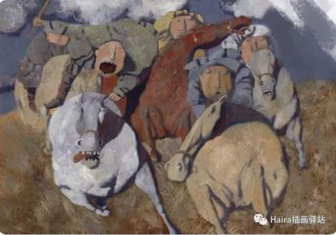 画作欣赏|卓利多·德尔吉耶夫—突破传统的卓越画家 第11张