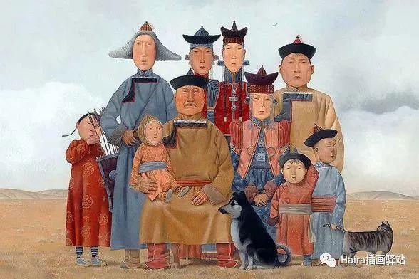画作欣赏|卓利多·德尔吉耶夫—突破传统的卓越画家 第15张