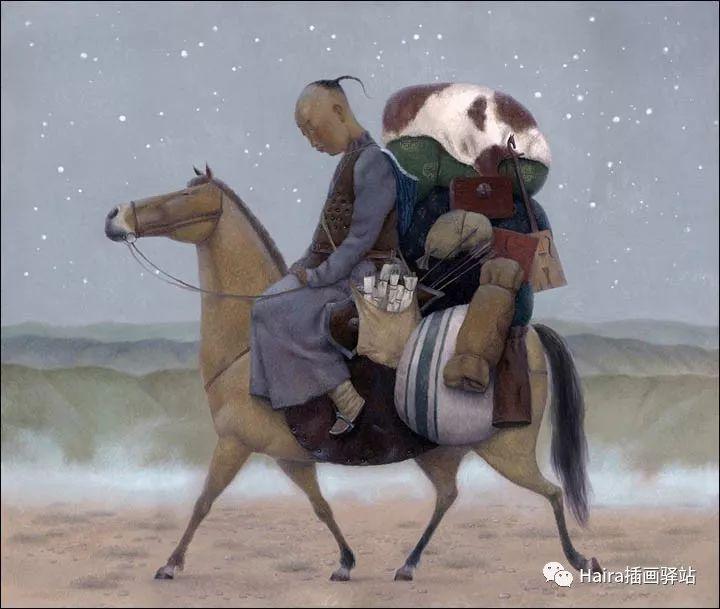 画作欣赏|卓利多·德尔吉耶夫—突破传统的卓越画家 第13张
