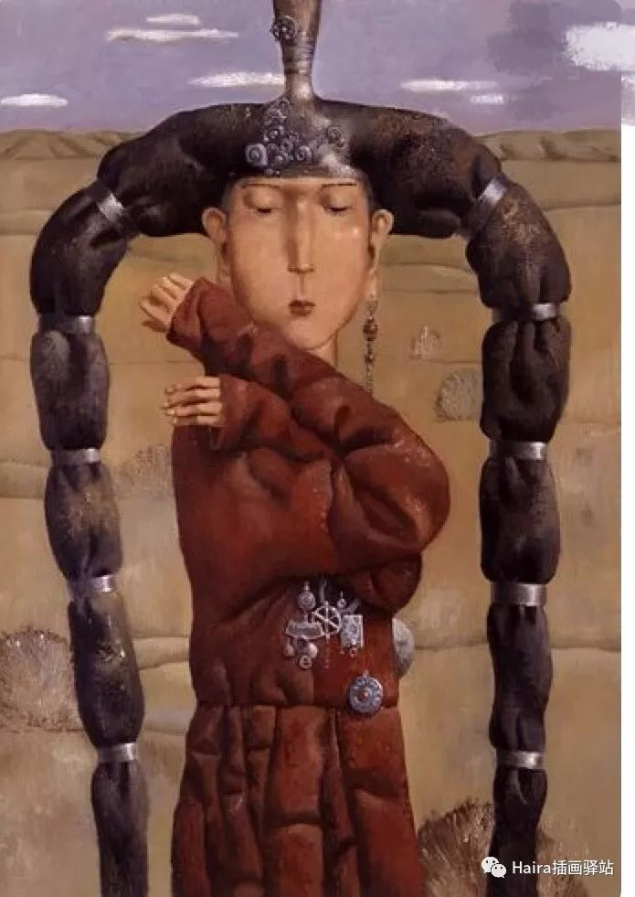 画作欣赏|卓利多·德尔吉耶夫—突破传统的卓越画家 第18张
