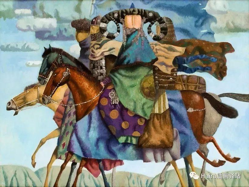 画作欣赏|卓利多·德尔吉耶夫—突破传统的卓越画家 第20张