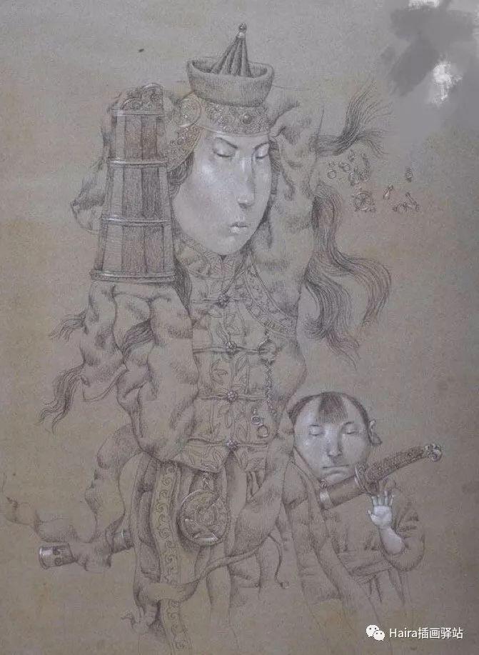 画作欣赏|卓利多·德尔吉耶夫—突破传统的卓越画家 第24张