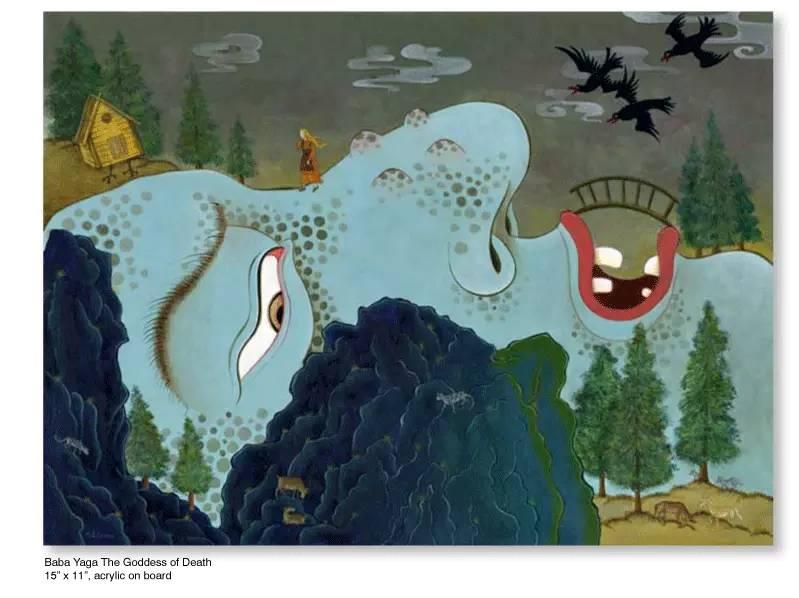 大众艺术网:插画 | 东西文化的融合 —— 旅美蒙古女画家  Solongo Mellecker 插画作品欣赏 第14张