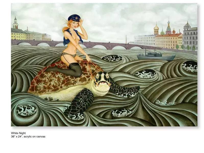 大众艺术网:插画 | 东西文化的融合 —— 旅美蒙古女画家  Solongo Mellecker 插画作品欣赏 第16张