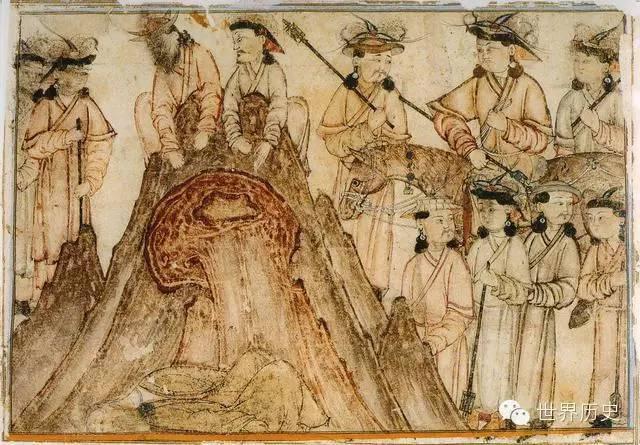 世界通史性巨著《史集》中的蒙古人(插图) 第6张