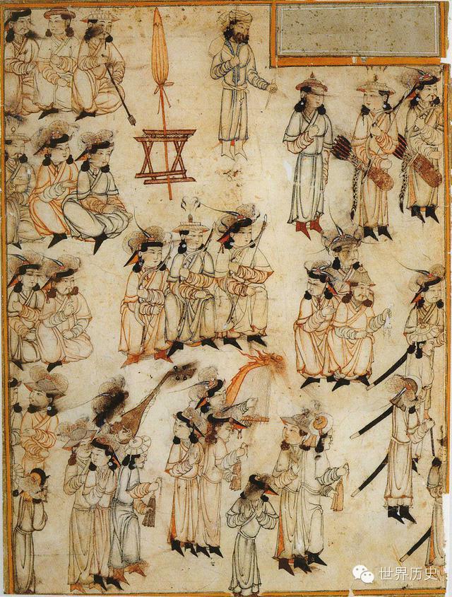 世界通史性巨著《史集》中的蒙古人(插图) 第17张