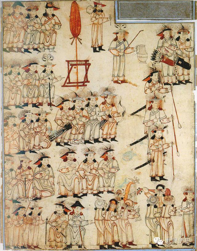 世界通史性巨著《史集》中的蒙古人(插图) 第21张