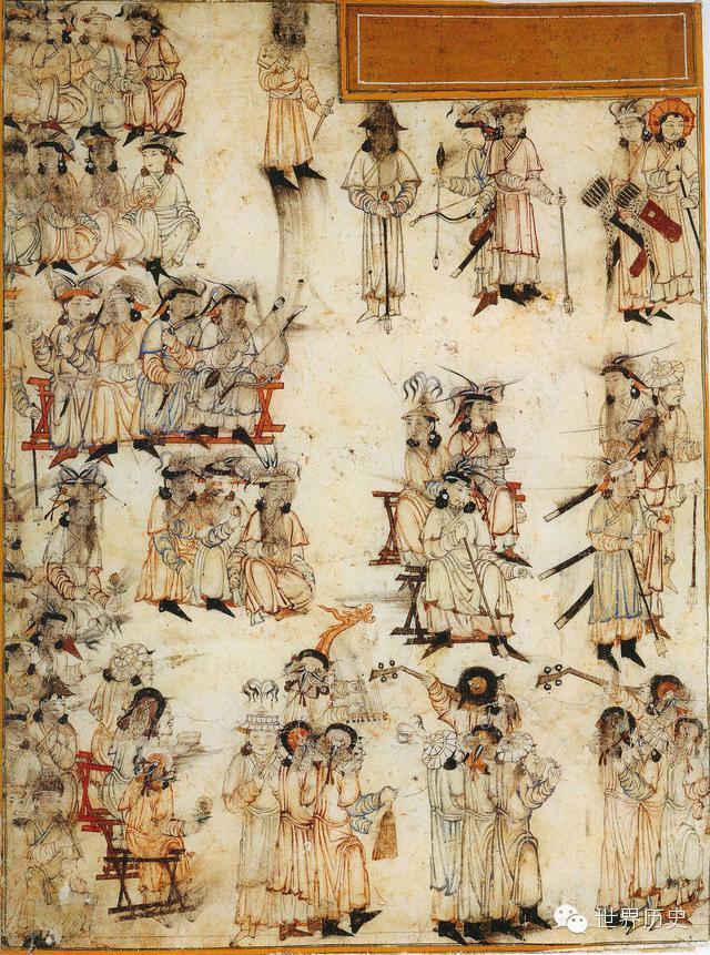 世界通史性巨著《史集》中的蒙古人(插图) 第19张
