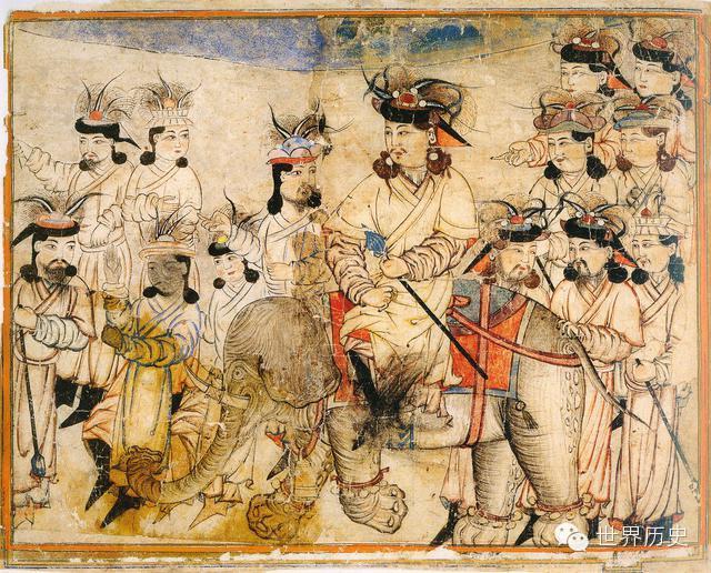 世界通史性巨著《史集》中的蒙古人(插图) 第28张