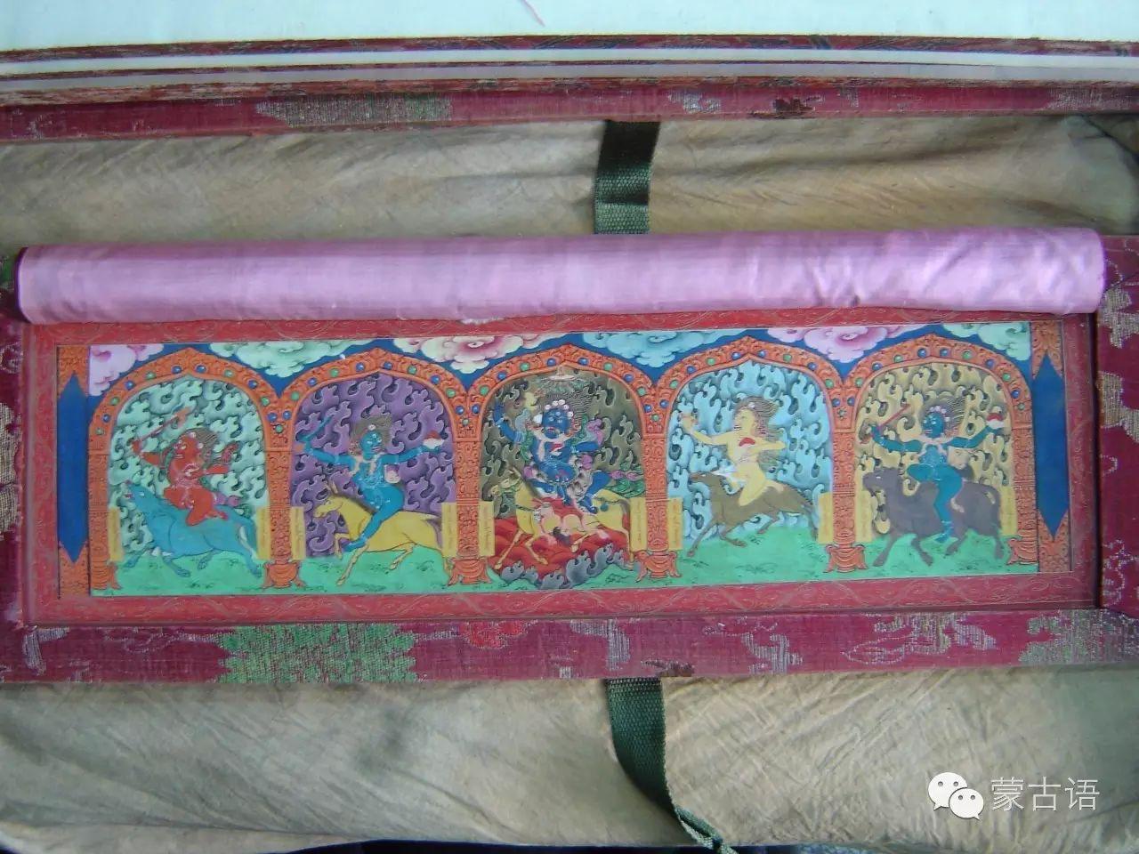 【文化】清康乾宫廷内府刻蒙古文《大藏经》印经板 第3张