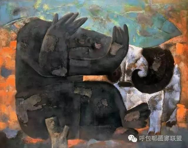 【艺玖文化·油画】 格日勒图作品欣赏 第2张