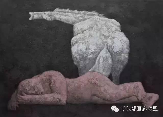 【艺玖文化·油画】 格日勒图作品欣赏 第3张