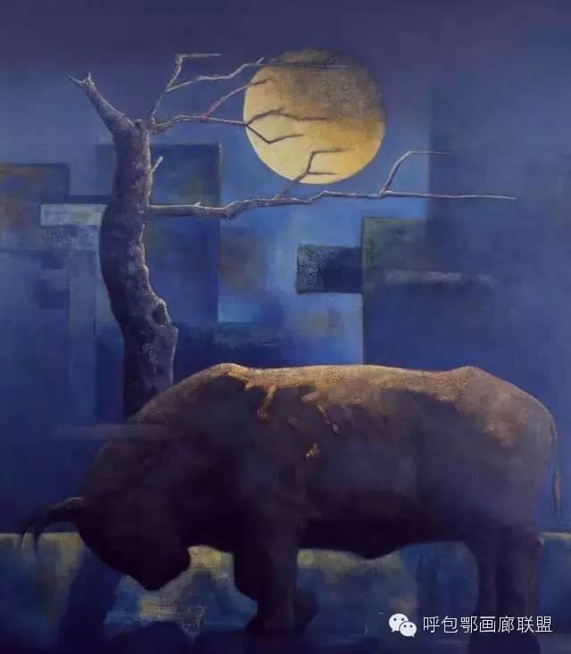 【艺玖文化·油画】 格日勒图作品欣赏 第8张