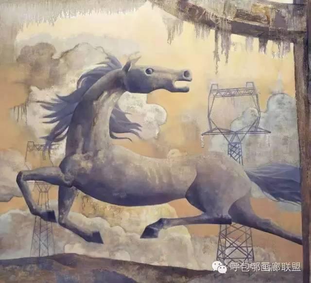 【艺玖文化·油画】 格日勒图作品欣赏 第6张