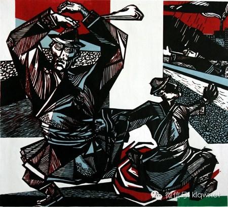 王永波(库伦人)版画欣赏 第10张