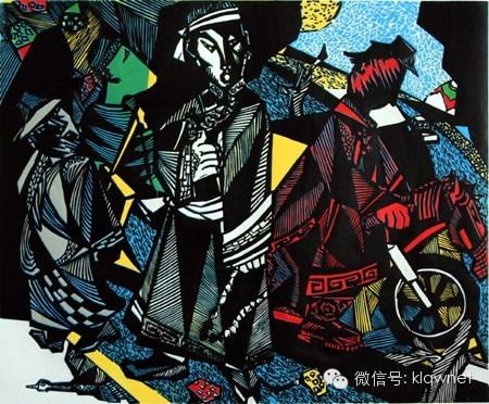 王永波(库伦人)版画欣赏 第9张