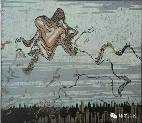 【赏析】库伦籍版画家王瑞峰作品欣赏 第1张