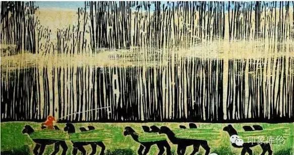 【赏析】库伦籍版画家王瑞峰作品欣赏 第3张