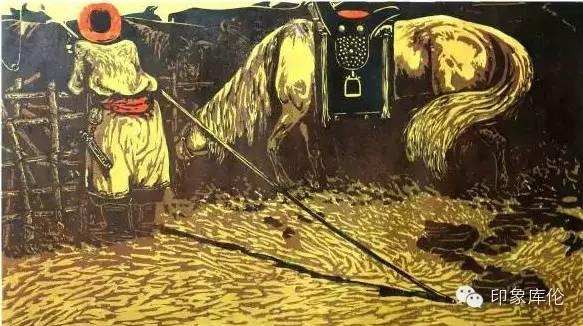 【赏析】库伦籍版画家王瑞峰作品欣赏 第6张