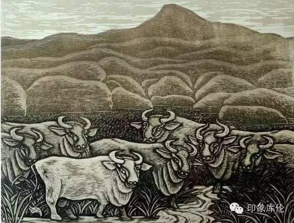 【赏析】库伦籍版画家王瑞峰作品欣赏 第12张