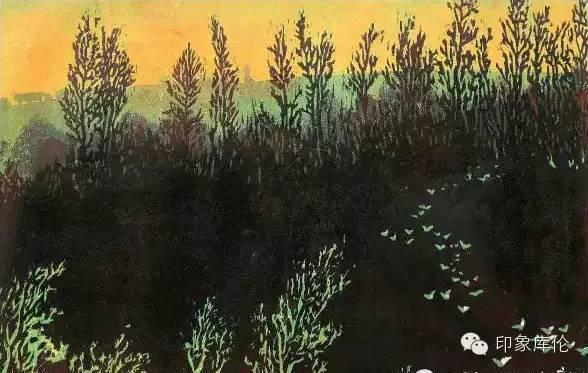 【赏析】库伦籍版画家王瑞峰作品欣赏 第14张