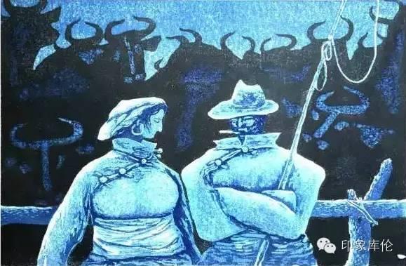 【赏析】库伦籍版画家王瑞峰作品欣赏 第13张