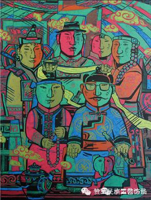 中国当代民族版画国际巡展将在蒙古国开展[组图] 第5张