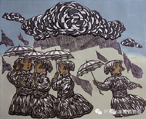 中国当代民族版画国际巡展将在蒙古国开展[组图] 第6张