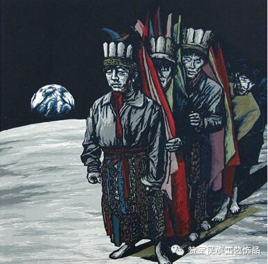 中国当代民族版画国际巡展将在蒙古国开展[组图] 第11张