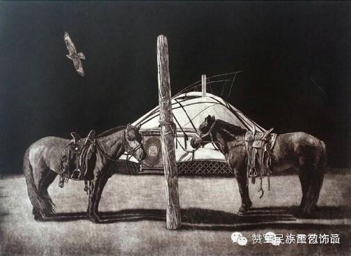 中国当代民族版画国际巡展将在蒙古国开展[组图] 第17张