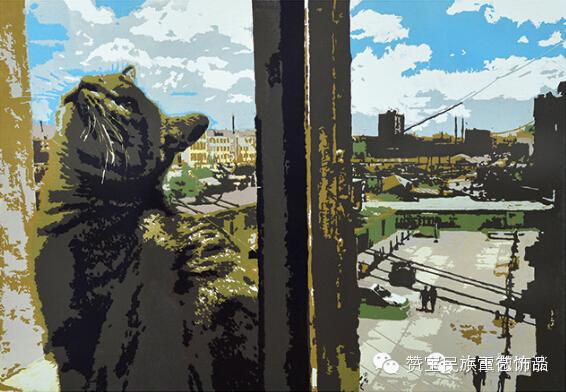 中国当代民族版画国际巡展将在蒙古国开展[组图] 第28张