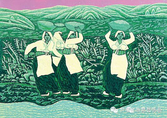 中国当代民族版画国际巡展将在蒙古国开展[组图] 第33张