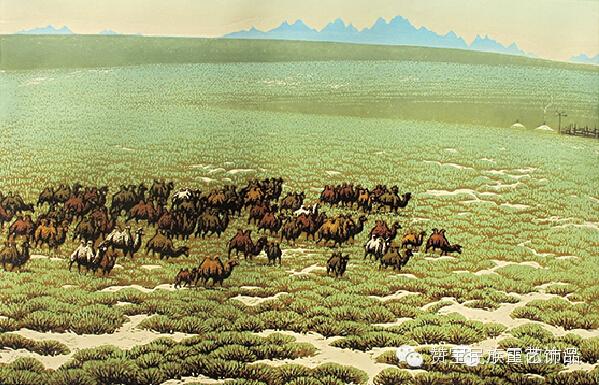 中国当代民族版画国际巡展将在蒙古国开展[组图] 第36张